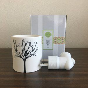 Scentsy Tilia Tree Plug-In Ceramic Wax Warmer